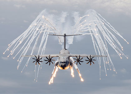 Lacroix Defense A400M Chaff and Flares Airborne Countermeasures