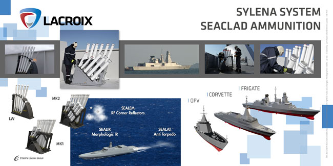 Lacroix Defense MSPO 2017 Sylena Decoy Launching System