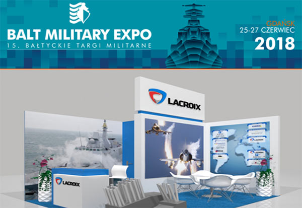 Lacroix exposera à Balt Military Expo 2018