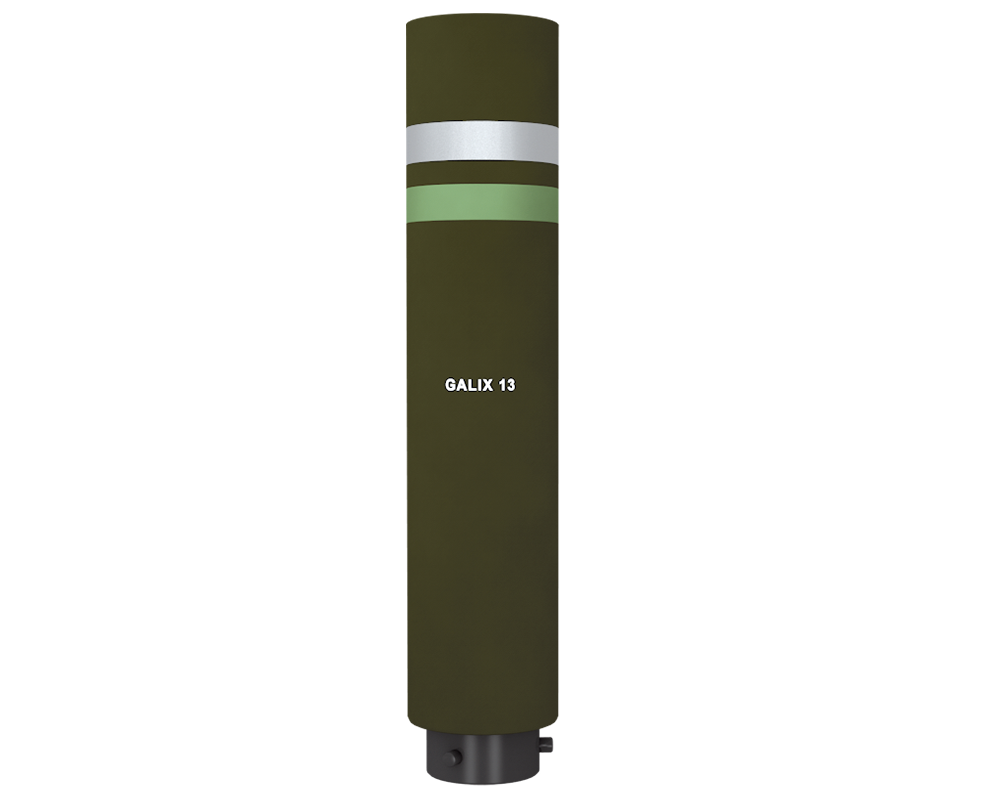 Lacroix Defense Vehicle Survivability Galix 13 Wideband Smoke Screening Ammunition