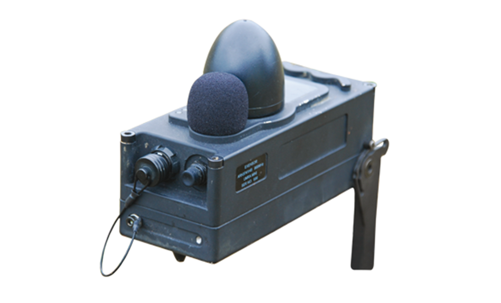 Lacroix Defense Area Protection System The Seismic acoustic sensor