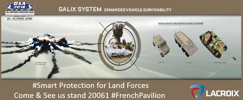 Lacroix Defense - News - LACROIX at the Defence Service Asia Exhibition